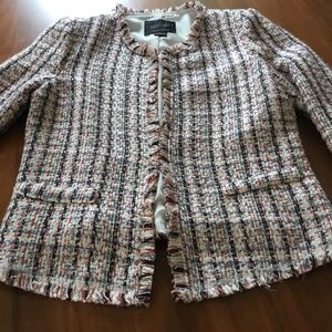 Channel or J. Crew ladylike jacket